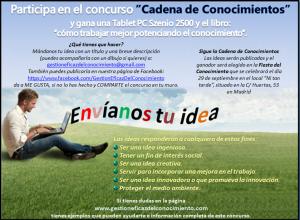 IMAGEN cartel concurso en la web